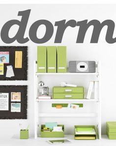 Website for anything dorm. From backpacks and pens to storage to laundry to YOU NAME IT!
