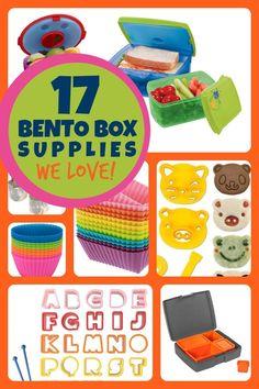 Best Bento Lunchbox Supplies