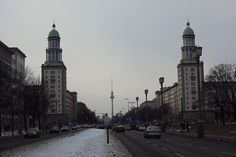 On former Stalinallee