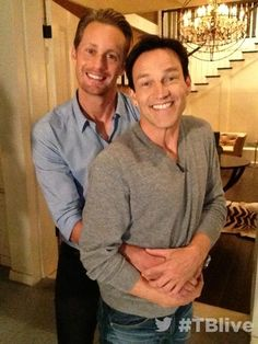 Hahah Eric and Bill of true blood