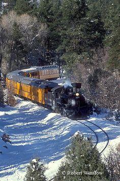Durango & Silverton Narrow Gauge Rail Road, Durango, Colorado