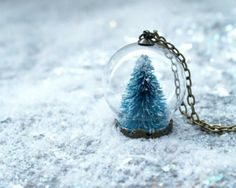 DIY Snow Globe Necklace!