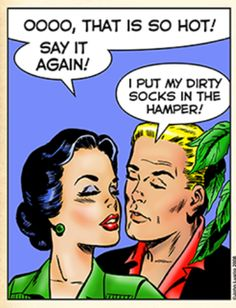 Foreplay 20 years into marriage...:-D