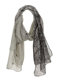 Tree and Bird Print oblong scarf (original price, $14) available at #Maurices