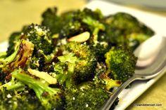 Roasted Broccoli with Lemon & Garlic