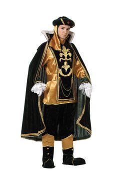 traje de paje del rey  melchor