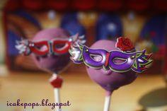 masquerad cake, sweet 16 cakes, masquerade ball, balls, masquerad ball, masquerade cake pops, cakepop, ball cake, masquerad parti