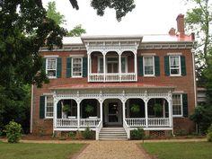Bonar Hall, Madison, Georgia, 1839-1840.