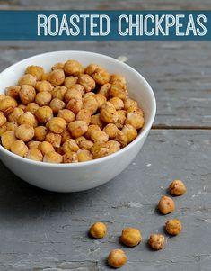 Roasted Chickpeas #healthy #recipe #vegan