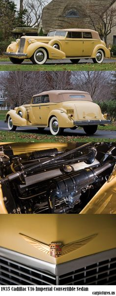 1935 Cadillac V16 Imperial Convertible Sedan