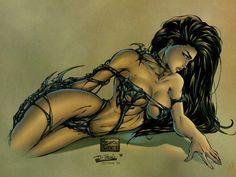 comic artist, sexi, fantasi artist, artist michael, witchblad, heart witch, sara pezzini, comic book, michael turner