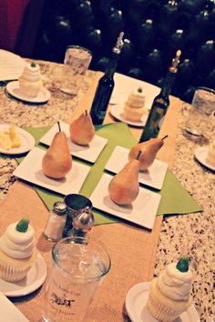 Pear themed baby shower
