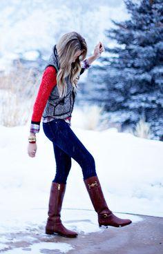 Enjoy Winter Fashions.