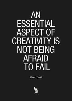 essenti aspect, creativ, fail, motivational quotes, inspir, quot quot, motiv quot, live, edwin land