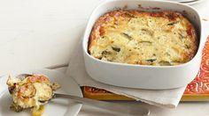 Summer Squash Bake Recipe ~ #kraftrecipes