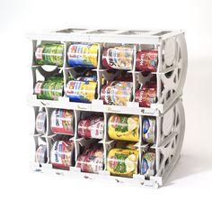 organize pantry pinterest | Kitchen Pantry Closet Storage Organization Ideas/Products | Vanilla ...