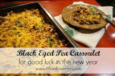black eyed pea cassoulet