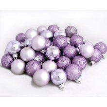 light purple christmas ornaments