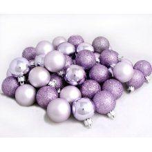 light purple christmas ornaments