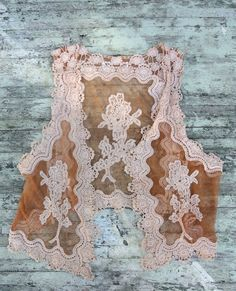 Gypsy-Cowgirl Lace vest fit for a rustic prairie gal!