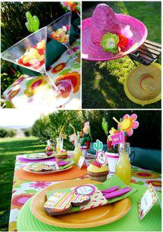 Fiesta table decor