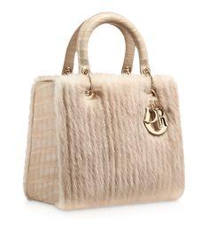 DIOR OBLIQUE - Multi-coloured 'Lady Dior' mini bag