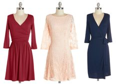 Long-Sleeve Bridesmaid Dresses