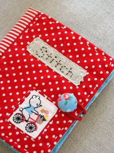 Sweetly Embroidered Book