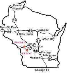 Elroy Sparta Trail near LaCrosse WI