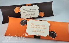 Extra long Pillow Box Gifts, Spring Blossom Musings