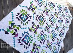 Annette Matthies' Main Street quilt - Sassafras Lane Designs