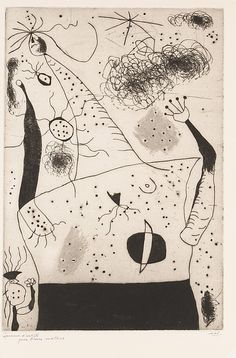 Joan Miró  (Spanish, Barcelona 1893–1983 Palma de Mallorca)  | The Giantess | 1938