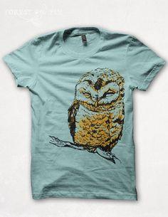 awesome owl tee