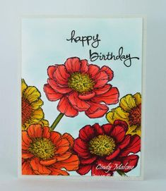 Blooming Birthday by discoverstampin - Cards and Paper Crafts at Splitcoaststampers Bloom With Hope Stampin' Up!