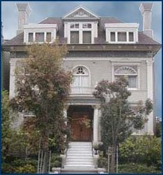 This house which was originally built by a scion of the Spreckels sugar fortune, was owned by Graham Nash of Crosby Stills & Nash.    The house had a small recording studio in it where many of the early bay area rockers recorded demos and honed their craft. Quicksilver Messenger Service and the Steve Miller band made early recordings here.