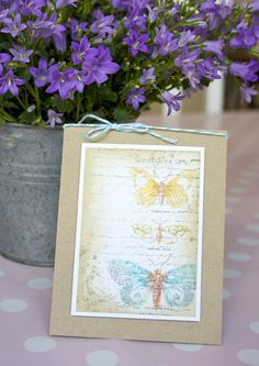 butterfly card by Anna Marie Niia