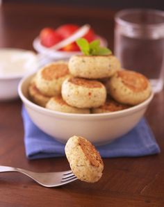 Quinoa and Turkey Meatballs with Tahini Sauce