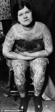 Circus # tattooed lady