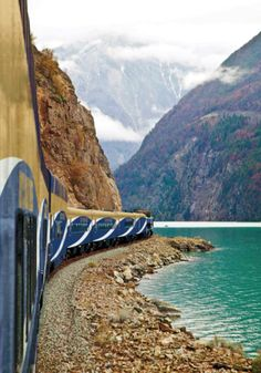 Train journey through the Canadian Rockies and Whistler.