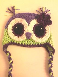 Adorable owl hat ~ color inspiration