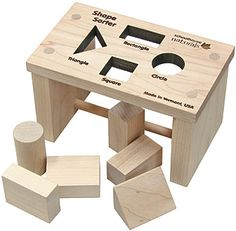 Planet Bambini  - Shape Sorter Bench  , $20.50 (http://www.planetbambini.com/shape-sorter-bench/)    Got this for my youngest and he loves it. Love the Baggie that comes with it to store all the pieces. Makes me happy to offer him safe natural toys that are ok if they get chewed on