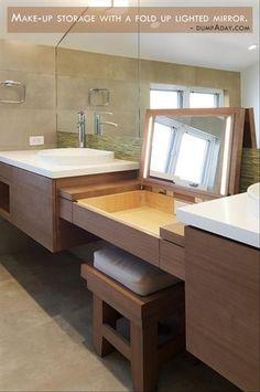 #bathroom #makeup #storage #organization #indoor #wishlist