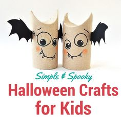 Simple and Spooky Halloween Crafts for Kids | thegoodstuff
