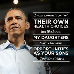 Women. Do you REALLY need another good reason to vote for Obama?
