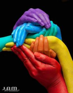 colour, primary colors, family photos, art, rainbows, friendship, rainbow colors, photography, holding hands