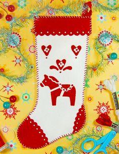 Free Felt Patterns and Tutorials: holidays - christmas