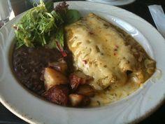 Mexican chain restaurant recipes chicken enchiladas with salsa verde