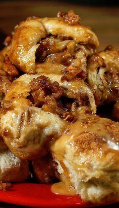 Crazy Caramel Apple Pie Bombs - add chopped pecans!