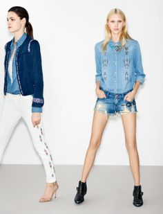 ZARA TRF - Lookbook February