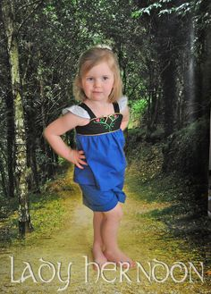 My Fairy Tale Charming Outfit: Anna - Sizes 2T, 3T, 4T, 5, 6, 7, 8 and 10 on Etsy, $50.00